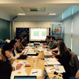 Los socios del Comité General reunidos en Zaragoza- LIFE Freshbox