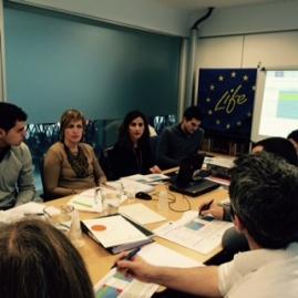 Partners during Steering Committee Meeting in Zaragoza- LIFE Freshbox