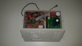 Sensor kit inside prototype