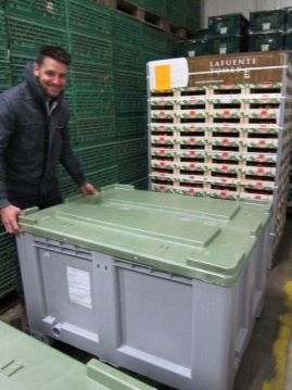 Kölla receives the Fresh Box containers from Lafuente Tomey