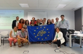 Kick-off del proyecto LIFE+ Fresh Box en Zaragoza
