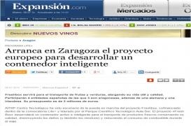 Arranca en Zaragoza el proyecto europeo para desarrollar un contenedor inteligente