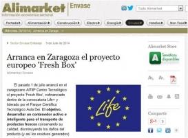 Arranca en Zaragoza el proyecto europeo 'Fresh Box'