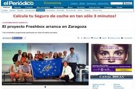 El proyecto Freshbox arranca en Zaragoza