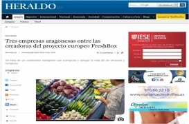 Tres empresas aragonesas entre las creadoras del proyecto europeo FreshBox