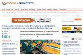 Arranca el proyecto europeo Freshbox para mejorar la cadena de suministro en el sector de la alimentación