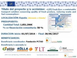 Reunión de lanzamiento de los proyectos LIFE+ 13 en Madrid