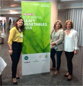 PCTAD participa en el Congreso Eucarpia Leafy Vegetables