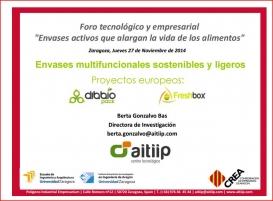 AITIIP presenta el proyecto en un foro tecnológico y empresarial