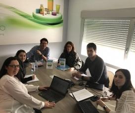 Transfer y Aitiip se reúnen en Zaragoza para planificar la Conferencia Final