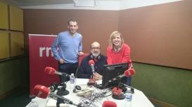 Entrevistan a Esther Arias en RNE Aragón