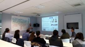 Grupo de estudiantes ERASMUS de Macedonia visitan AITIIP