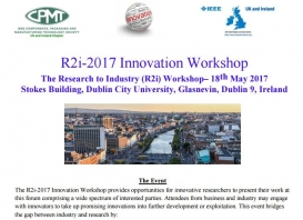 Se presenta el Kit de Sensores Integrados en el Resarch to Industry Workshop en Dublín