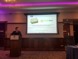 Successful participation of Freshbox at ISSC conference
